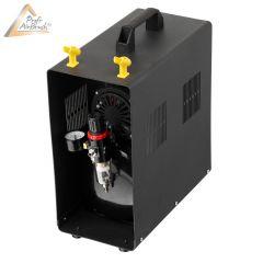 Profi-AirBrush Kompressor Duo-Power II-C mit Zubehörauswahl