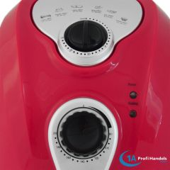 Heißluft-Multifritteuse ECO AIR-PROFI 1350W, rot