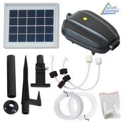 Teichbelüfter-Set Solar OXYGEN-4 2,5 Watt